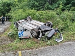 The opening stage of Monbat Rally Sliven was stopped after a crash